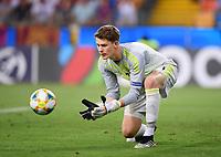 FUSSBALL UEFA U21-EUROPAMEISTERSCHAFT FINALE 2019  in Italien  Spanien - Deutschland   30.06.2019 Torwart Alexander Nuebel (Deutschland)