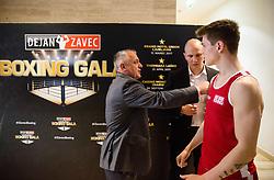 Jan Sekol during Dejan Zavec Boxing Gala event in Laško, on April 21, 2017 in Thermana Lasko, Slovenia. Photo by Vid Ponikvar / Sportida
