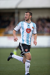 Hearts Dale Carrick.<br /> Alloa Athletic 0 v 1 Hearts, Scottish Championship played at Recreation Park, Alloa.