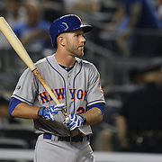 Eric Campbell, New York Mets, batting during the New York Yankees V New York Mets, Subway Series game at Yankee Stadium, The Bronx, New York. 12th May 2014. Photo Tim Clayton