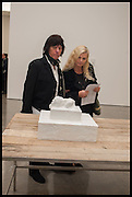 JEFF BECK; SANDRA BECK, Tracey Emin The Last Great Adventure is You - White Cube, Bermondsey. London. 7 October 2014