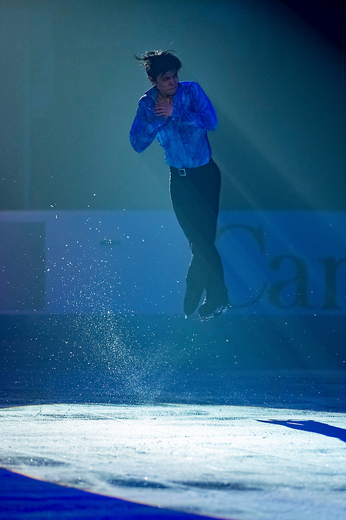 KELOWNA, BC - OCTOBER 24: Men's gold medalist Yuzuru Hanyu of Japan performs in the gala of Skate Canada International at Prospera Place on October 24, 2019 in Kelowna, Canada. (Photo by Marissa Baecker/Shoot the Breeze)