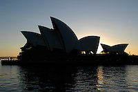 Jorn Utzon's famous Sydney opera, Australia. January 2nd-11th 2007