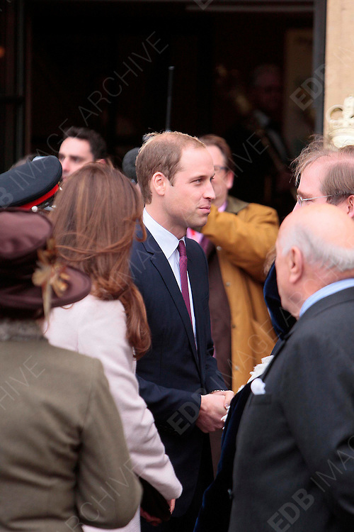 28.NOVEMBER.2012. CAMBRIDGE<br /> <br /> PRINCE WILLIAM AND CATHERINE DUCHESS OF CAMBRIDGE VISIT CAMBRIDGE<br /> <br /> BYLINE: EDBIMAGEARCHIVE.CO.UK<br /> <br /> *THIS IMAGE IS STRICTLY FOR UK NEWSPAPERS AND MAGAZINES ONLY*<br /> *FOR WORLD WIDE SALES AND WEB USE PLEASE CONTACT EDBIMAGEARCHIVE - 0208 954 5968*