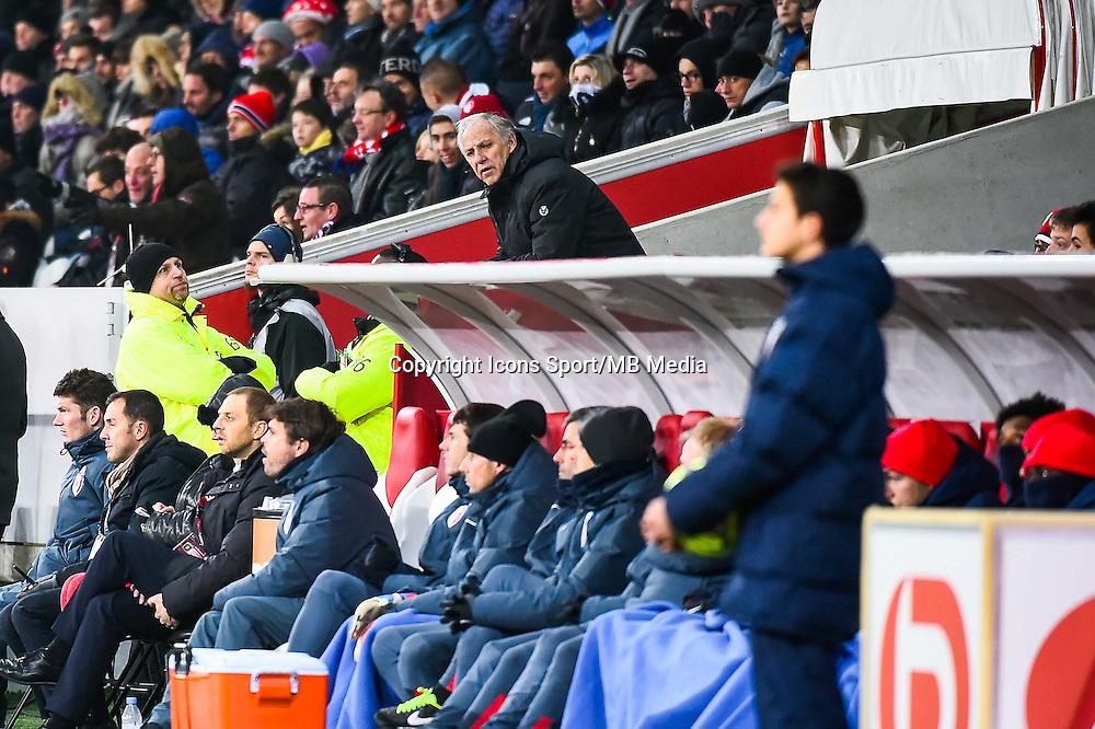 Rene GIRARD - 03.12.2014 - Lille / Paris Saint Germain - 16eme journee de Ligue 1 -<br />Photo : Fred Porcu / Icon Sport