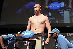 October 1, 2011; Washington D.C.; USA; Stefan Struve weighs in for his upcoming bout against Pat Barry at UFC on Versus 6 at the Verizon Center.