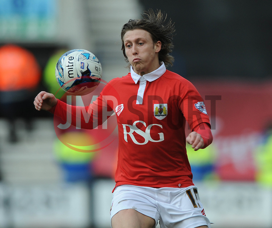 Bristol City's Luke Freeman - Photo mandatory by-line: Dougie Allward/JMP - Mobile: 07966 386802 - 11/04/2015 - SPORT - Football - Preston - Deepdale - Preston North End v Bristol City - Sky Bet League One