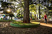 Praça Coronel Bertaso. Chapecó, Santa Catarina, Brasil. / <br /> Coronel Bertso Square. ChapecO, Santa Catarina, Brazil.