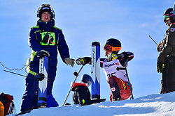 LUSCOMBE Braydon, LW2, CAN, Giant Slalom at the WPAS_2019 Alpine Skiing World Cup, La Molina, Spain