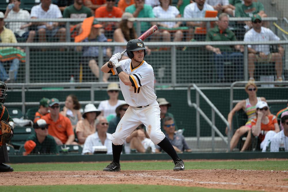 2015 Virginia Commonwealth Baseball vs Miami @ Coral Gables Super Regional