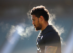 Nathan Hughes of England during an open training session at Twickenham - Mandatory by-line: Robbie Stephenson/JMP - 16/02/2018 - RUGBY - Twickenham Stadium - London, England - England Rugby Open Training Session