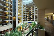 Architectural Interior Photography of Embassy Suites Hotel in Maryland