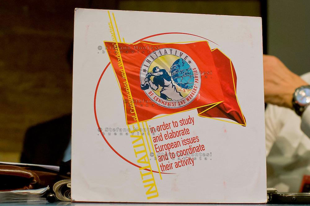 """Roma 8 Novembre 2014<br /> Manifestazione internazionale  Viva La Rivoluzione Sovietica, organizzata dal Partito Comunista per ribadire la giustezza delle idee che portarono alla rivoluzione bolscevica in Russia, della quale ricorre il 97° anniversario e per celebrare la grande storia del comunismo.<br /> Rome November 8, 2014<br /> Event International """"Viva La Revolution Soviet"""" organized by the Communist Party to reaffirm the correctness of the ideas that led to the Bolshevik revolution in Russia, which is celebrating the 97th anniversary and to celebrate the great history of communism."""