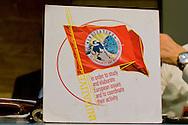 Roma 8 Novembre 2014<br /> Manifestazione internazionale  Viva La Rivoluzione Sovietica, organizzata dal Partito Comunista per ribadire la giustezza delle idee che portarono alla rivoluzione bolscevica in Russia, della quale ricorre il 97&deg; anniversario e per celebrare la grande storia del comunismo.<br /> Rome November 8, 2014<br /> Event International &quot;Viva La Revolution Soviet&quot; organized by the Communist Party to reaffirm the correctness of the ideas that led to the Bolshevik revolution in Russia, which is celebrating the 97th anniversary and to celebrate the great history of communism.