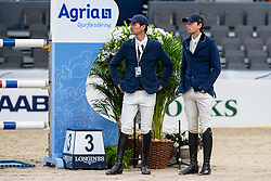 Guerdat Steve, Fuchs Martin, SUI<br /> LONGINES FEI World Cup™ Finals Gothenburg 2019<br /> © Dirk Caremans<br /> 04/04/2019