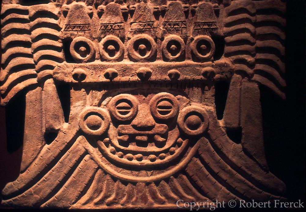 MEXICO, MEXICO CITY, MUSEUM Teotihuacan; rain god 'Tlaloc'