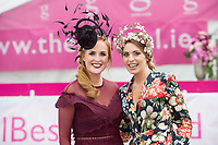 Repro Free. Triona Barrett, General Manager and Aoife Kenny of the g Hotel at the g Hotel Best Dressed competitions at the Galway Races. Photo: Andrew Downes, xposure