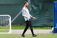 SAINT PETERSBURG, RUSSIA - JULY 10: Gareth Southgate of England national team during an Englang national team training session ahead of the 2018 FIFA World Cup Russia Semi Final match against Croatia at Stadium Spartak Zelenogorsk on July 10, 2018 in Saint Petersburg, Russia. (MB Media)