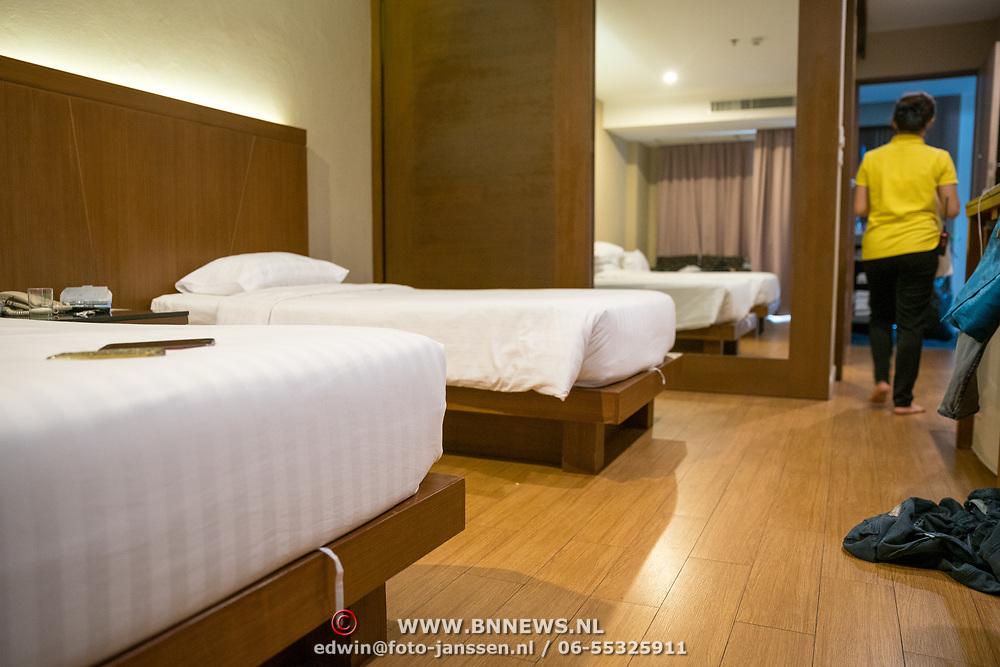 THA/Pattaya/20180722 - Vakantie Thailand 2018, Pattaya, hotelpersoneel