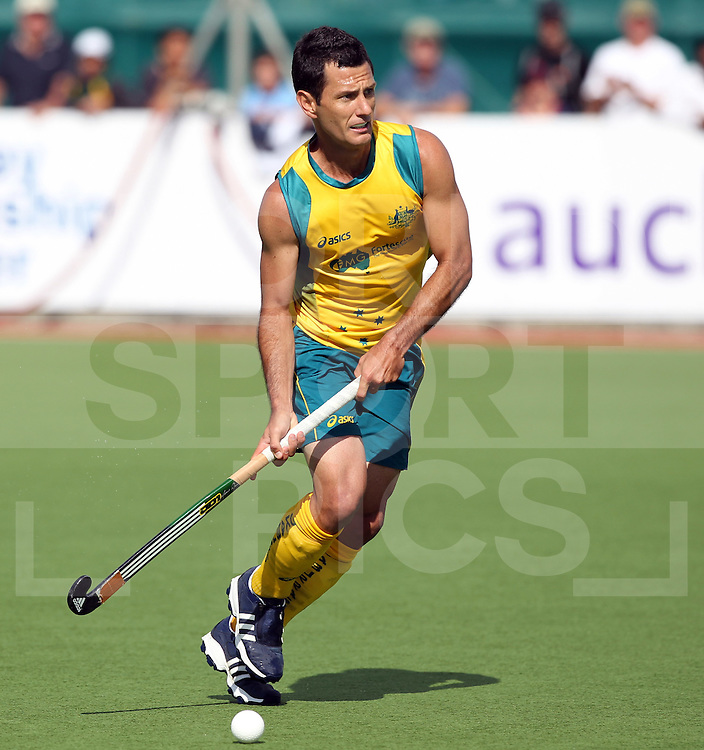 Champions Trophy, New Zealand 2011.8/12/2011 Day 4 Netherlands v Australia.Jamie Dwyer