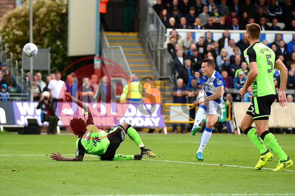 Billy Bodin of Bristol Rovers takes a shot at goal - Mandatory by-line: Dougie Allward/JMP - 30/09/2017 - FOOTBALL - Memorial Stadium - Bristol, England - Bristol Rovers v Plymouth Argyle - Sky Bet League One