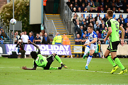 Billy Bodin of Bristol Rovers takes a shot at goal - Mandatory by-line: Dougie Allward/JMP - 30/09/2017 - FOOTBALL - Memorial Stadium - Bristol, England - Bristol Rovers v Plymouth Argyle - Sky Bet League One