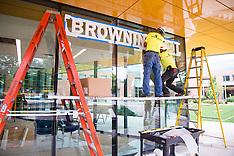 Interdisciplinary Science Building - Browning Sign