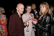 RICHARD O'BRIEN; AMELIA O'BRIEN; PATTIE BOYD, Annual Lighthouse Gala Auction in aid of the Terrence Higgins Trust.  Christie's, King St. London. 21 March 2011. .-DO NOT ARCHIVE-© Copyright Photograph by Dafydd Jones. 248 Clapham Rd. London SW9 0PZ. Tel 0207 820 0771. www.dafjones.com.