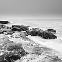 Seascape at hariharshwar, the rocks here are amaZing!