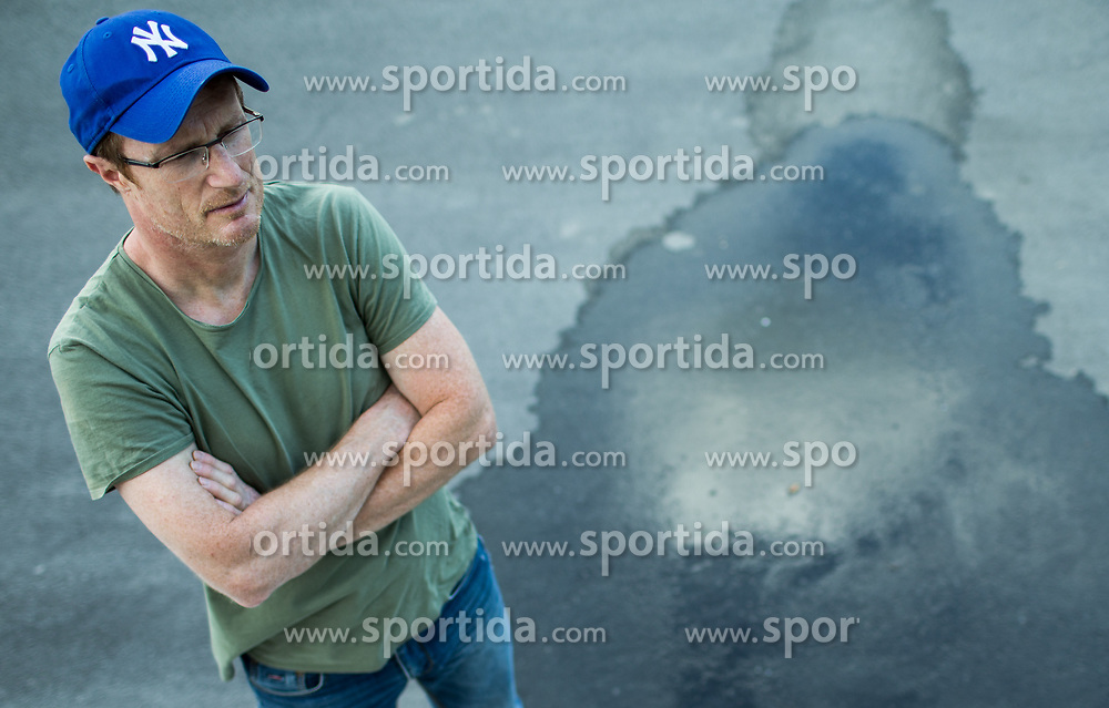 Portrait of Tadej Golob, Slovenian writer and journalist, on June 29, 2017 in Ljubljana, Slovenia. Photo by Vid Ponikvar / Sportida