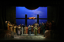 "Opera ""Macbeth"" by Verdi.Astra Opera House,Victoria, Gozo.Joseph Calleja as Macduff"
