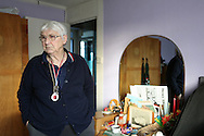 Rose, Ted's neighbour in her prefab in Catford, January 2013