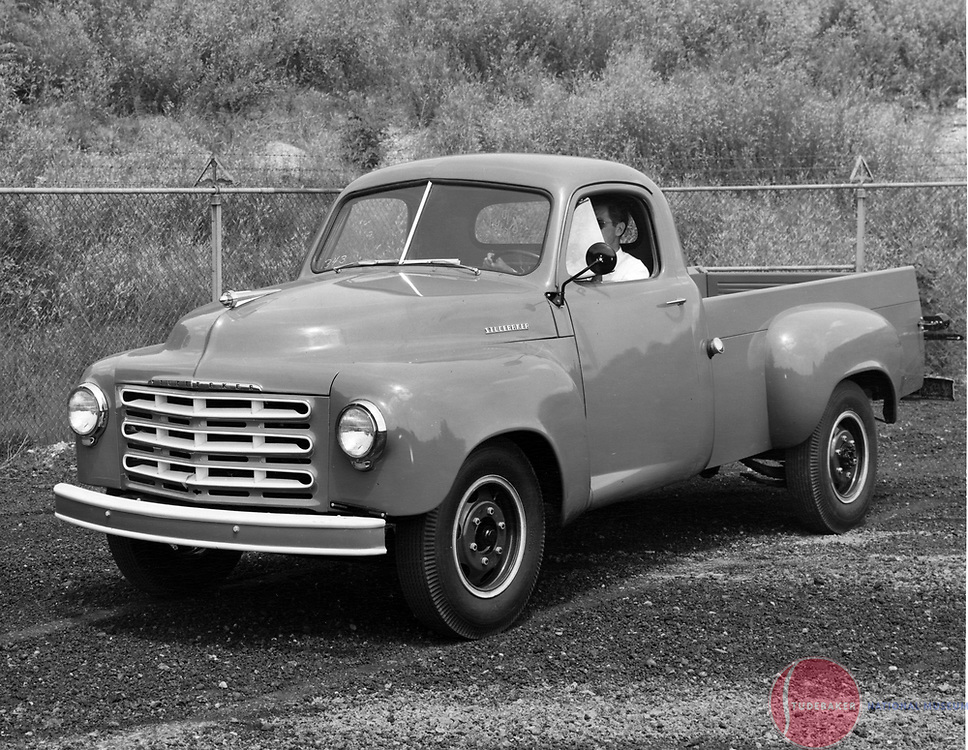 A Studebaker 2R-10 3/4 ton pickup truck.