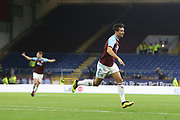 4 Jack Cork for Burnley FC celebrates during the Europa League third qualifying round leg 2 of 2 match between Burnley and Istanbul basaksehir at Turf Moor, Burnley, England on 16 August 2018.