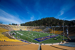 October 9, 2010; Berkeley, CA, USA;  General view of Memorial Stadium before the game between the California Golden Bears and the UCLA Bruins.