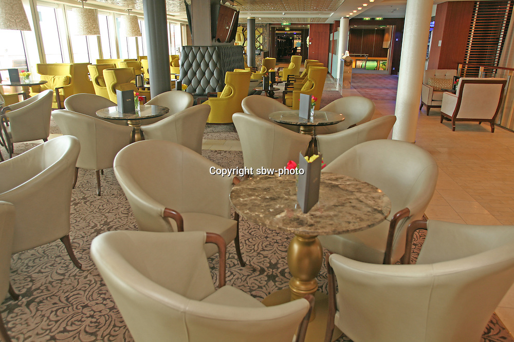 Celebrity Eclipse interior photos.Cafe el Bacio.