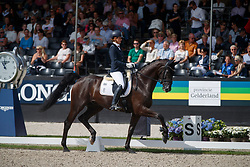 Wolf Stefanie, GER, Matchball Old<br /> Longines FEI/WBFSH World Breeding Dressage Championships for Young Horses - Ermelo 2017<br /> © Hippo Foto - Dirk Caremans<br /> 06/08/2017