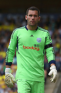 Picture by Paul Chesterton/Focus Images Ltd.  07904 640267.11/9/11.Ben Foster of West Brom during the Barclays Premier League match at Carrow Road stadium, Norwich.