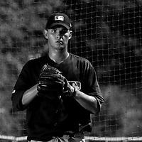 Baseball - MLB Academy - Tirrenia (Italy) - 19/08/2009 - Quentin Becquey (France)