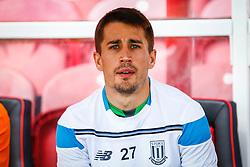 Bojan Krkic of Stoke City starts on the bench - Mandatory by-line: Jason Brown/JMP - Mobile 07966 386802 25/07/2015 - SPORT - FOOTBALL - Brentford, Griffin Park - Brentford v Stoke City - Pre-Season Friendly