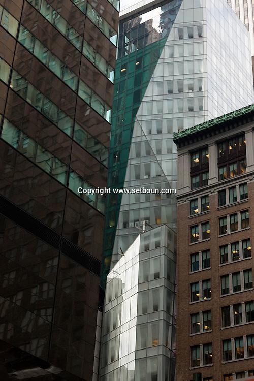 New York. Lvmh building on 57th streete Midtown  New York, Manhattan - United states   / Midtown  Manhattan New York - Etats-unis