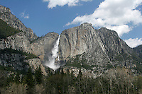 Yosemite Falls, California.  April 2008