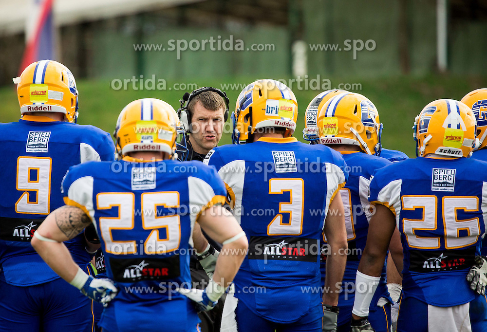 Martin Kocian, head coach  of Graz Giants during American football match between Ljubljana Silverhawks (SLO) and Project Spielberg Graz Giants (AUT) in Round #1 of AFL (Austrian Football League) League, on March 26, 2016 in Sportni park Ljubljana, Slovenia. Photo by Vid Ponikvar / Sportida