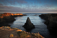 Sunrise at Mendocino Headlands State Park, Mendocino, California
