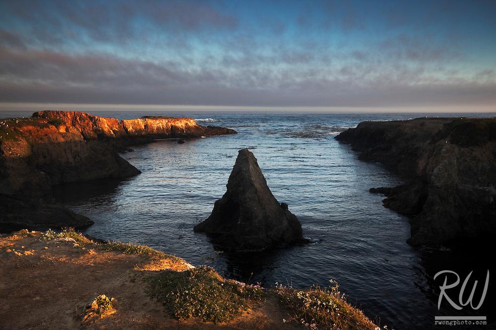 Sunrise at Mendocino Headlands State Park, Mendocino, California