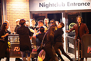 Manchester UK 21.09.2016: Students in Manchester  at Tiger Tiger during freshers week<br /> <br /> Notes to Desk <br /> <br /> Images from Leeds and Manchester it was not  very busy at all and by and large people behaved themselves