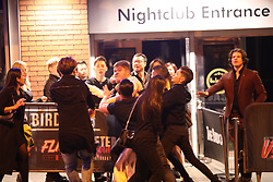 Manchester UK 21.09.2016: Students in Manchester  at Tiger Tiger during freshers week<br /> <br /> Notes to Desk <br /> <br /> Images from Leeds and Manchester it was not  very busy at all and by and large people behaved themselves Manchester Boouncers and customers fighting outside the Birdcage in Manchester city Cenrtre