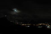 Super Lua azul na Vista Chinesa nesta quarta-freira (31/01). Foto: Rudy Trindade/FramePhoto