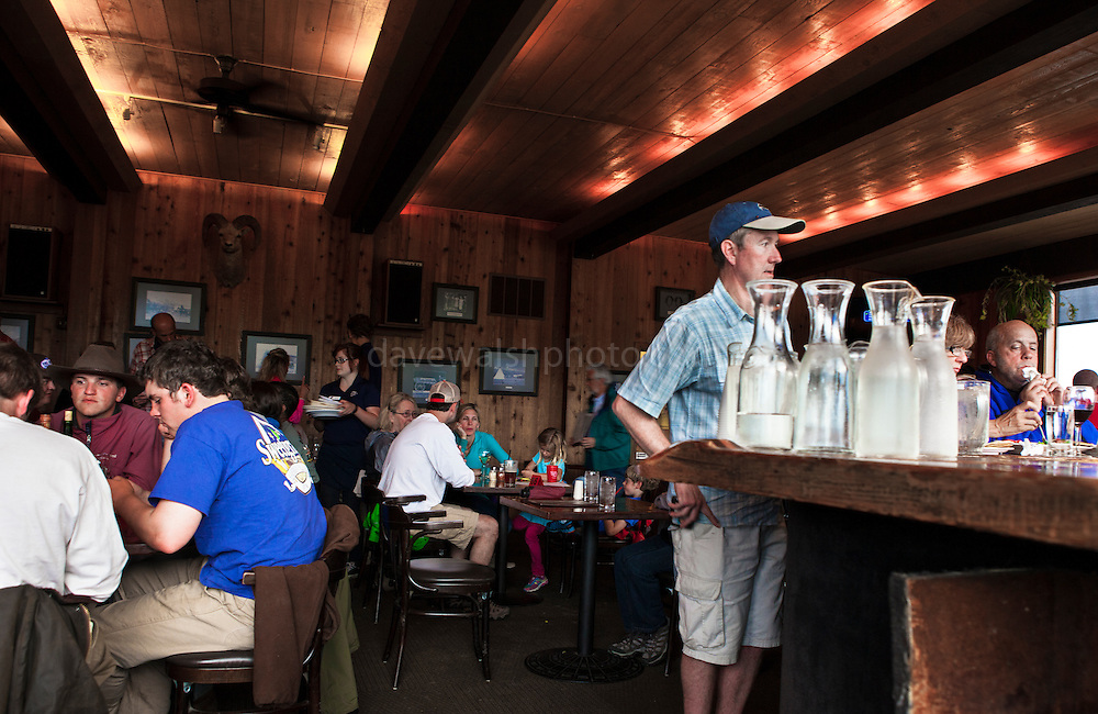 Dornan's bar and pizza restaurant, Moose Junction, Grand Teton National Park, Wyoming, USA.