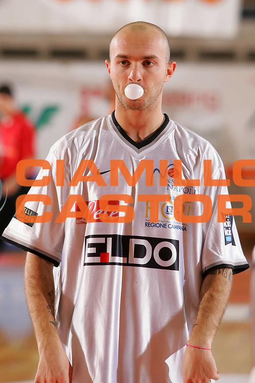 DESCRIZIONE : Udine Lega A1 2006-07 Snaidero Udine Eldo Napoli <br /> GIOCATORE : Spinelli <br /> SQUADRA : Eldo Napoli <br /> EVENTO : Campionato Lega A1 2006-2007 <br /> GARA : Snaidero Udine Eldo Napoli <br /> DATA : 07/01/2007 <br /> CATEGORIA : Curiosita <br /> SPORT : Pallacanestro <br /> AUTORE : Agenzia Ciamillo-Castoria/S.Silvestri